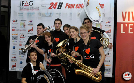 marching band, cours de musique